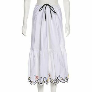 Chloe Floral Embroidered Maxi Skirt